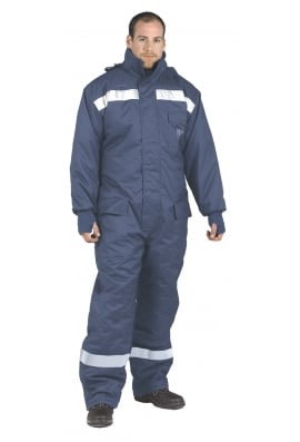 Portwest CS12 ColdStore Coverall - Navy - (SmallTo3XL)