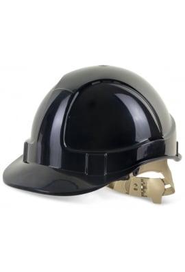 Click B BRAND COMFORT VENTED SAFETY HELMET
