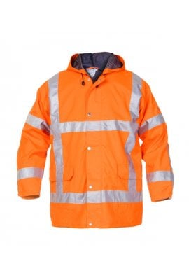 UITDAM SNS HI VIS WATERPROOF JACKET (SMALL TO 2XLARGE)