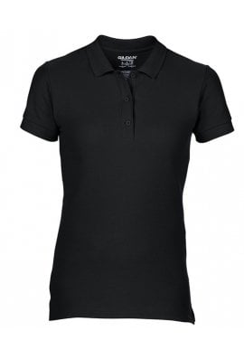 Gildan GD043 Ladies Fit Premium Cotton Polo Double PIque (Small to 2Xlarge