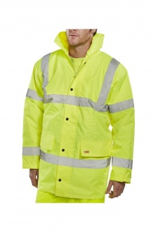 CTJENG Padded Waterproof Traffic Jacket (Small To 6XL)