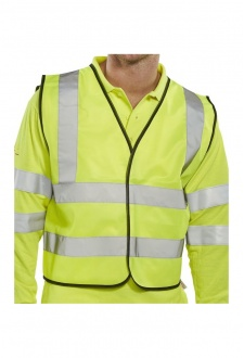 WCENGSH Scaffolders Hi Vis Vests (Large To 2XL)