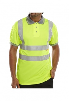 BPKSEN Hi-Visibility Polo Shirt (XSmall To 4XL)