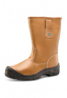 RBLSSC Click Footwear Scuff Cap Rigger Boot Lined