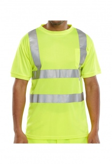 BSCNTSEN Seen Hi-Visibility T- Shirt (Small To 3XL)