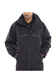 SJB Springfield Taslon Coated Breathable Jacket (Black Xlarge and 2Xlarge Limited Stocks)