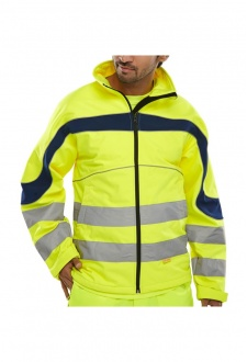 ET40 Eton Soft Shell Jacket (Breathable , Water Resistant) (Small To 6XL)