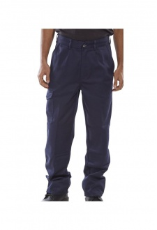 PCT9B Click Black Heavyweight 9oz Polycotton Work Wear Trouser
