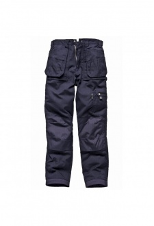 WD009 Eisenhower Heavy Duty Multi-Pocket Trousers Navy