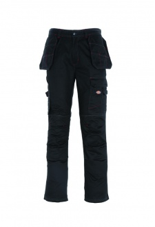 WD013 Redhawk Multi-Pocket Trousers Black