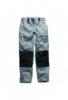 WD012 Grafted Duo Tone Trousers Grey/Black