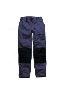 WD012 Grafted Duo Tone Trousers Navy/Black