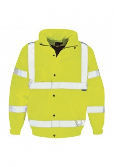 WD040 Hi-Vis Bomber Jacket (Medium To 2XL)