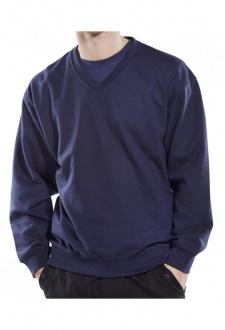 CLVPCS WorkWear V-Neck SweatShirt (Small to 3XL)