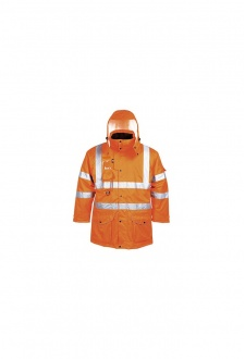 RT27 Hi-Vis 7-in-1 Traffic Jacket GO/RT (XSmall To 4XL)