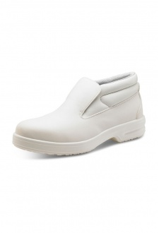 CF852 White Slip-On Chukka Boot