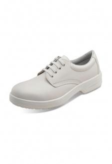 D211 Black/White Tie Shoe