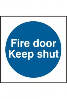 BSS11325 Fire Door Keep Shut PVC Version