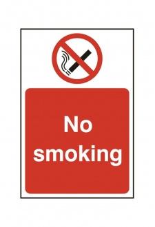 BSS11811 No Smoking Sign PVC Version