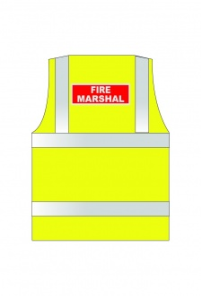 WCENGFM Reflective Print Fire Marshal (Small To 6XL)