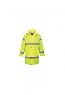 H442 Hi-Vis Rain Coat (Small To 2XL)