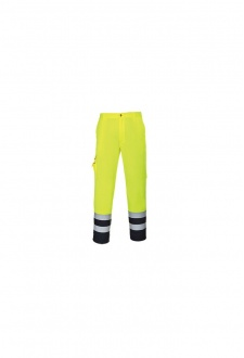 E047 Hi-Vis Contrast Trousers (Small To 2XL)