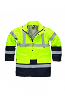 WD055 Hi-Vis Two Tone Parka Jacket (Medium To 2XL)