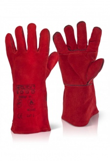 EN388 3234 Red Welders Gauntlet (Sold per Box 60 Pairs)
