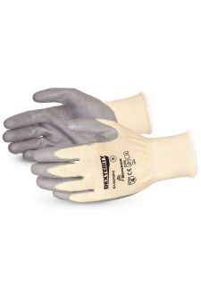 EN388  4532 Cut Level 5 Abrasion Level 4 Nitrile Palm Gloves