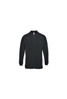 FR10 Flame-Resistant Anti Static Long Sleeved Polo Shirt