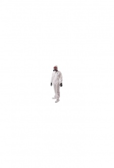 ST41 BizTex Microporous Coverall With Boot Covers Type 6/5 (Medium to 3Xlarge) Box of 50