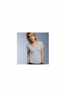 AV123 Womens Sheer V-Neck T-Shirt (XSmall To 2XL)