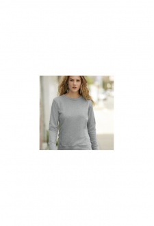 A522F Womens Mid-Scoop French Terry SweatShirt (Small to 2XL)