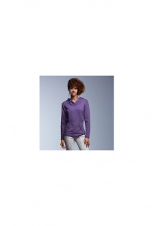 AV523 Womens Hooded Sweatshirt French Terry (Small to 2Xlarge)