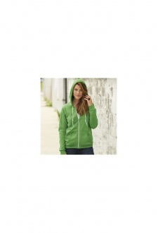 A521F Womens Full Zip Hooded Sweatshirt (Small to 2Xlarge)