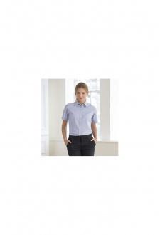 HB516 Womens Short Sleeved Classic Oxford Shirt (XS To 2XL)