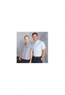 KB536 Womens Short Sleeve EasyCare Oxford Shirt (XS To 4XL)