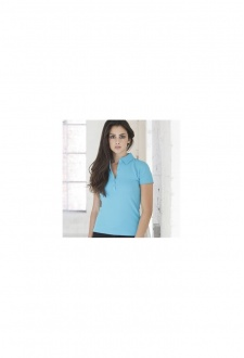 SK042 Womens Short Sleeved Streched Polo