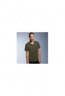AV106 Anvil V-Neck Fashion T-Shirt (Small To 2XL)