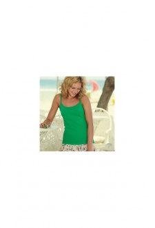 SS015 Lady-Fit Strap T-Shirt (XSmall To 2XL)