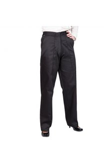 LW97BL Ladies Elasticated Trousers