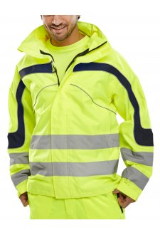 ET45 Eton Breathable Hi-Vis Bomber Jacket (Small To 6XL)