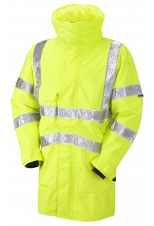 A05-Y Class 3 Bampton Breathable Executive Reflexite Tape Anorak Jacket (Small to 6XL)