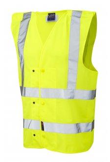 W17-Y Rackenford Hi Vis Vests (Small To 3XL)