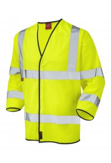 S06-Y Kentisbury Flame Retardent 3/4 Hi Vis Vests (Small To 4XL)