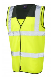 W09-BT/Y Bradworthy Bottle Yoke Hi Vis Vests (Small To 4XL)