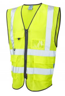 W20-Y Coolvis Yellow Hi Vis Vest (Small To 6XL)