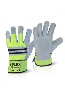 EN388 4144 Fleece Lined Canadian Rigger Gloves (Pack Size 10)