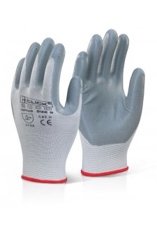 EN388 4121 Nitrile Foam Nylon Glove (pack Size 100)