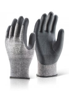 EN388 4542 Cut Level 5 Nitrile Palm Coated Gloves (Pack Size 10)